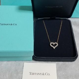 Tiffany & Co. - ティファニー TIFFANY センチメンタル ハート ネックレス スモール