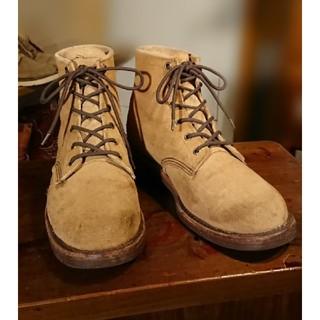 チペワ(CHIPPEWA)の良品◆CHIPPEWA 99952 スエード 6インチブーツ チペワ 10D(ブーツ)