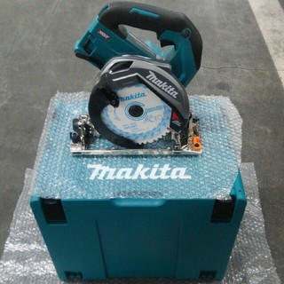 Makita - 【マキタ】HS001G 40Vmax充電式丸のこ&マックパック4