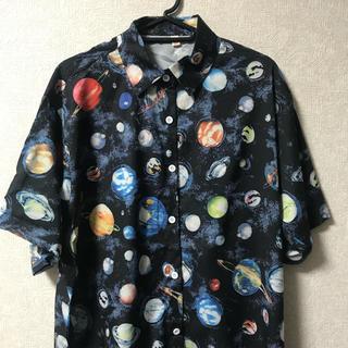 宇宙 惑星 アロハシャツ