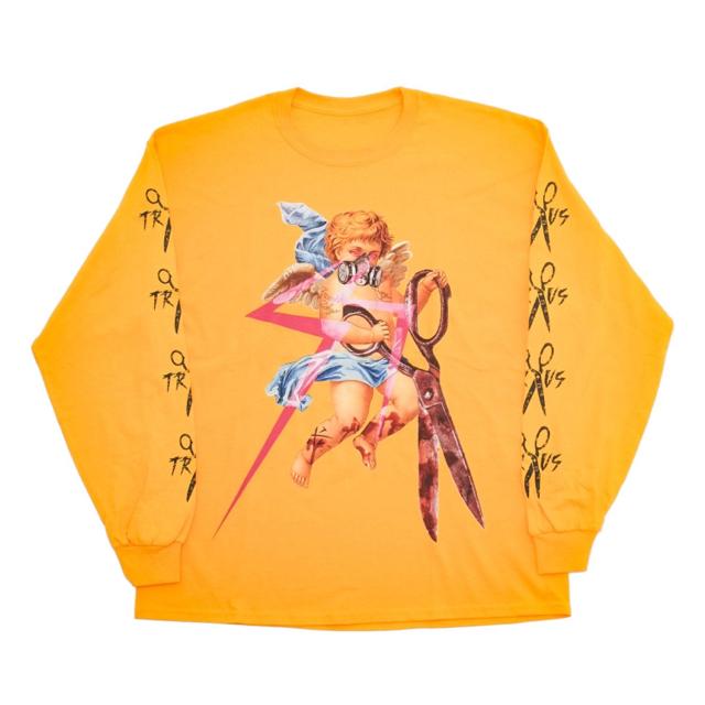 MILKBOY(ミルクボーイ)のTRAVAS TOKYO DECALDENT ANGEL BIG L/S TEE メンズのトップス(Tシャツ/カットソー(七分/長袖))の商品写真