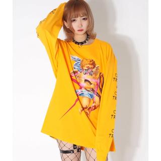 ミルクボーイ(MILKBOY)のTRAVAS TOKYO DECALDENT ANGEL BIG L/S TEE(Tシャツ/カットソー(七分/長袖))