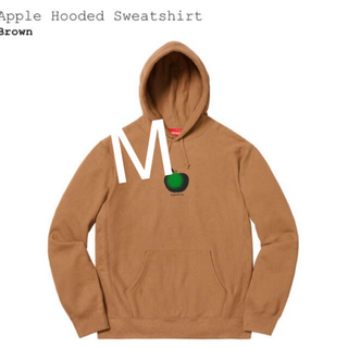 Supreme - Supreme Apple Hooded Sweatshirt 19ss