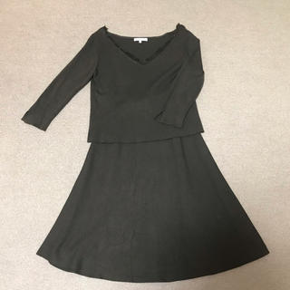 PROPORTION BODY DRESSING - ニットセットアップ