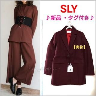 SLY - WAIST MARKジャケット♡SLY スライ 新品 タグ付き