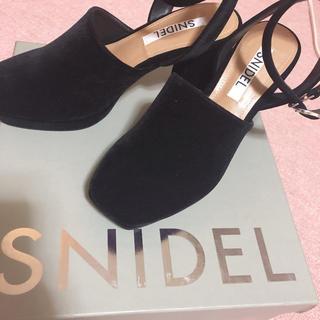 snidel - スナイデル パンプス