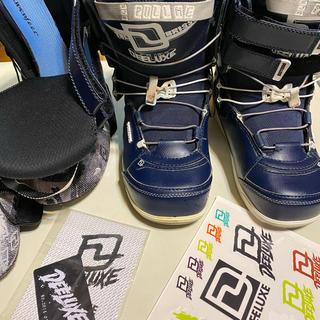 ディーラックス(DEELUXE)のディーラックス DEELUXE ID 25.5 スノーボード ブーツ 柔らかめ(ブーツ)