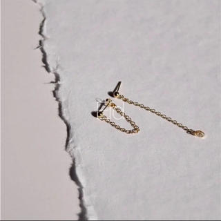 ROSE BUD - Chain gold small pierce No.19