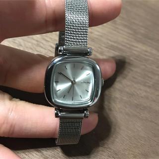アーバンリサーチ(URBAN RESEARCH)のkomono コモノ マニーペニーロイヤル シルバー 腕時計(腕時計)