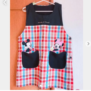 Disney - 未使用 ミッキー&ミニー エプロン