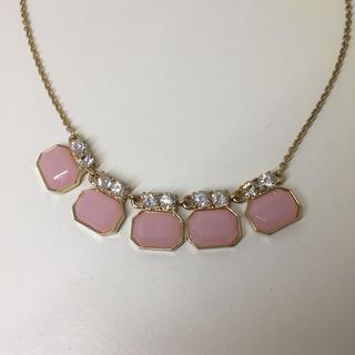 ウィゴー(WEGO)のピンクのネックレス(ネックレス)
