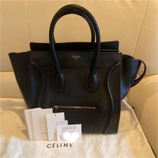 celine - 美品 セリーヌ ラゲージ ミニ バッグ ハンドバッグ