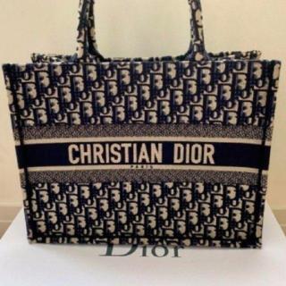 Christian Dior - Christian Dior トートバッグ キャンバス ブロックチェック