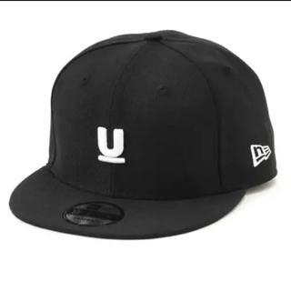 アンダーカバー(UNDERCOVER)のUNDERCOVER×NEW ERA ベースボールCAP新品正規品 黒(キャップ)