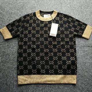 グッチ セーター ロゴ 半袖 GUCCI ニットセーター