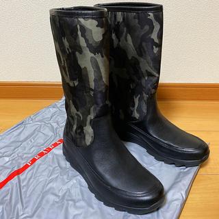 PRADA - PRADA  ロングブーツ プラダ ブーツ miumiu ミュウミュウ 長靴