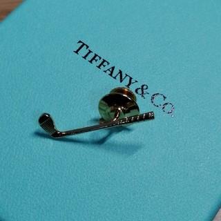 Tiffany & Co. - ティファニー ゴルフモチーフタイピン