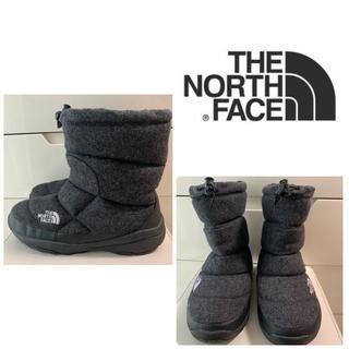 THE NORTH FACE - 美品 ノースフェイス ヌプシブーツ ダークグレーウール