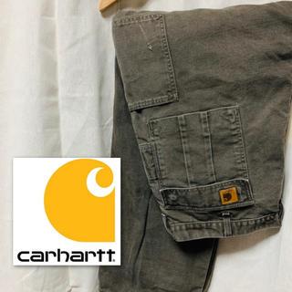 カーハート(carhartt)の【Carhartt】ワイドカーゴパンツ ブラウン(ワークパンツ/カーゴパンツ)