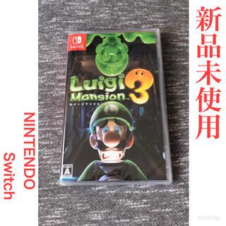 Nintendo Switch - ルイージマンション3   任天堂 Switch ソフト