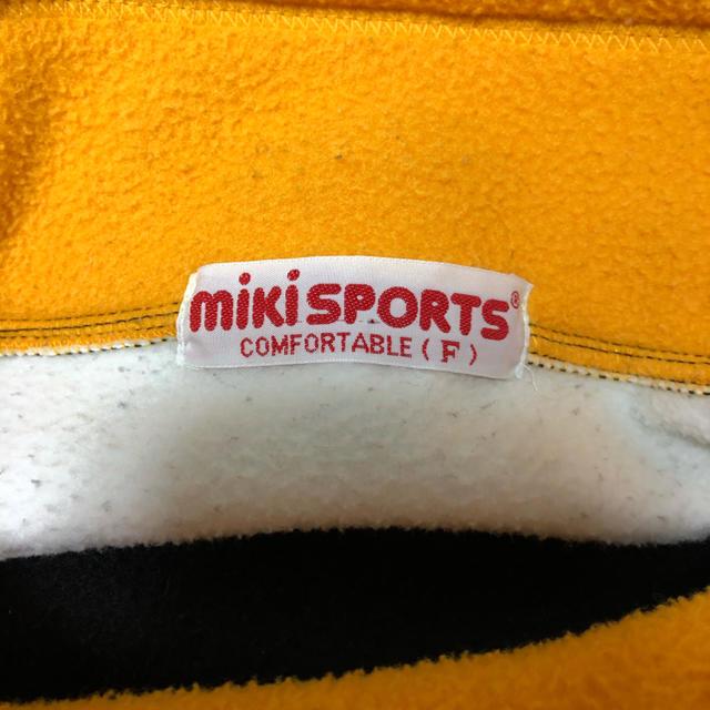 フリース メンズ 古着 mikiSPORTS メンズのトップス(ニット/セーター)の商品写真