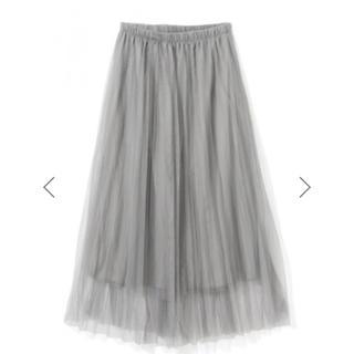 GRL - チュール プリーツスカート