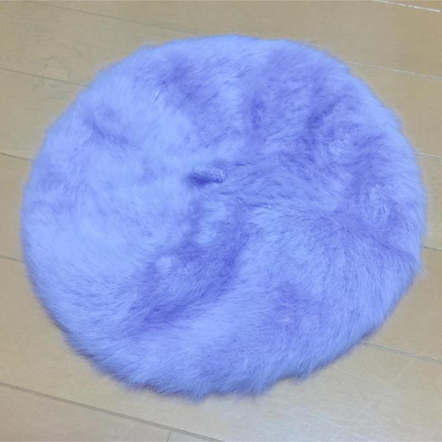 WEGO(ウィゴー)のWEGOファーベレー帽 レディースの帽子(ハンチング/ベレー帽)の商品写真