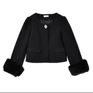 evelyn - アンミール コート ブラック