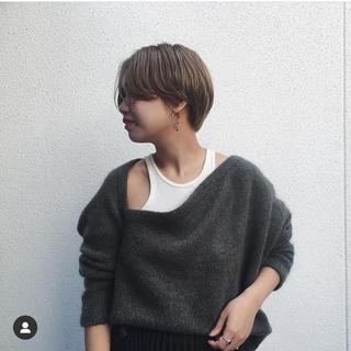 ジョンリンクス(jonnlynx)のjun mikami ジュンミカミ 2018AW モヘアニット(ニット/セーター)