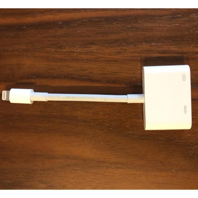 Apple(アップル)の【しの様専用】Lightning-hdmi Digital AVアダプタ スマホ/家電/カメラのPC/タブレット(PC周辺機器)の商品写真