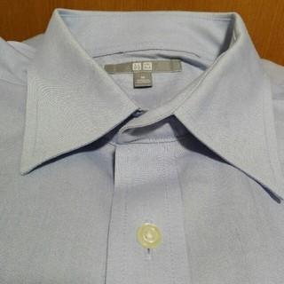 UNIQLO 水色ワイシャツ