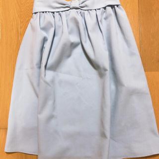 トッコ(tocco)のtocco ウエストリボンスカート(ひざ丈スカート)