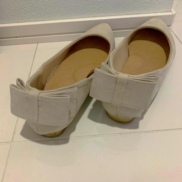しまむら(シマムラ)のバックリボンパンプス レディースの靴/シューズ(バレエシューズ)の商品写真