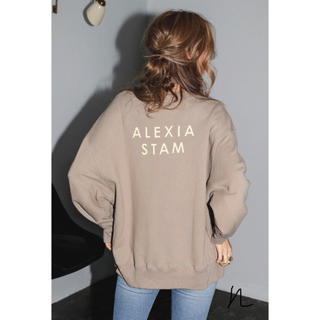 ALEXIA STAM - ALEXIS STAM バッグプリントスエット
