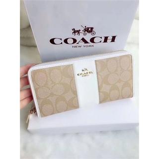 COACH - COACH コーチ  F52859 長財布  シグネチャーウォレット  正規品