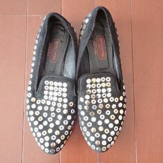 SPAZIOMODA ローファー 黒(ローファー/革靴)