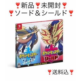 Nintendo Switch - ポケモンソードシールドセット!