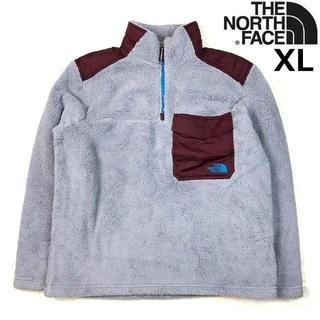 THE NORTH FACE - ノースフェイス シェルパフリース プルオーバー 灰【XL】181205