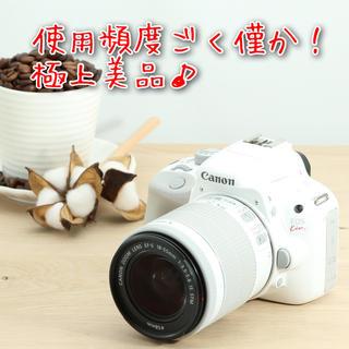 Canon - ◆使用頻度ごく僅か◆スマホへ転送◆人気のホワイトカラー◆Canon EOS X7