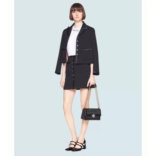 miumiu - miumiu♡ビジュー リボン スカート