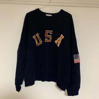 dholic - ネイビー スウェット USA