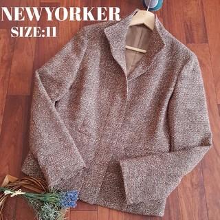 ニューヨーカー(NEWYORKER)のニューヨーカー NEWYORKER ツイード ジャケット(テーラードジャケット)