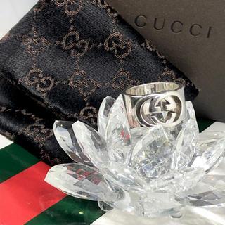 グッチ(Gucci)の磨き済み!良品! GUCCI インターロッキング リング 11号(リング(指輪))