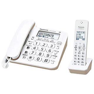 Panasonic - パナソニック 電話機 ホワイト VE-GD26DL-W 子機付き