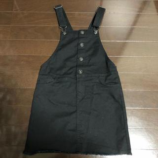 エイチアンドエム(H&M)の新品 H&M ジャンパースカート 140 130 オーバーオール(スカート)