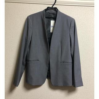 ジーユー(GU)の【新品】  GU ジーユー セットアップ スーツ レディース XXL グレー(スーツ)