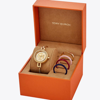 Tory Burch - トリーバーチ 新品バングル腕時計 ベゼルセット
