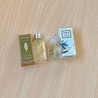 L'OCCITANE - ロクシタン人気エルバヴェールオードパルファムとヴァーベナオードトワレ香水 セット