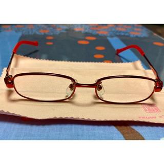 ベベ(BeBe)のBeBe 女の子 眼鏡フレーム 7〜8歳(サングラス/メガネ)