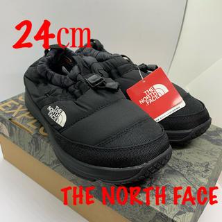 THE NORTH FACE - 新品 ノースフェイス ブラック 24㎝ beams ヌプシライトモック IV
